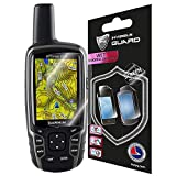 IPG Compatible with Garmin GPSMAP 62 64st Screen Protector Foils for 62s 62sc 62st 62stc 64 64s (2 Units) Screen Skin Protector by IPG Shield Ultra Clear + Lifetime Replacements
