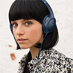 Bose SoundTrue around-ear  wired headphones II - Apple devices, Navy Blue