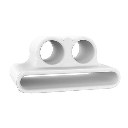 IPOTCH 1 pc Montaje de Auriculares Bluetooth Compatible con Apple Airpods - Blanco