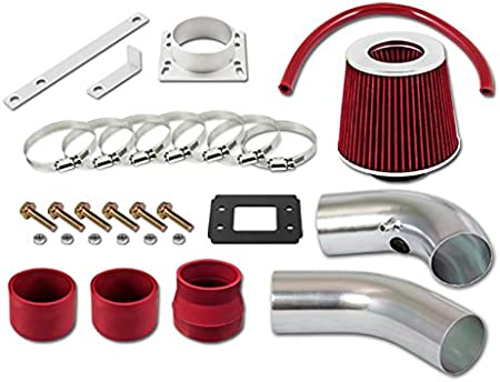 Filter 95-97 For Ford Ranger All Model with 2.3L 4-Cyl Velocity Concepts Black Short Ram Air Intake Kit