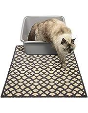 Large Litter Mat - 60 x 90 cm Cat Litter Mat - Traps Messes, Easy Clean, Durable, Non Toxic Trapper Rug - Litter Box Mat, Cat Mat, Kitty Litter Mat