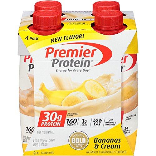 Premier Protein 30g Protein Shakes Bananas Amp Cream 11