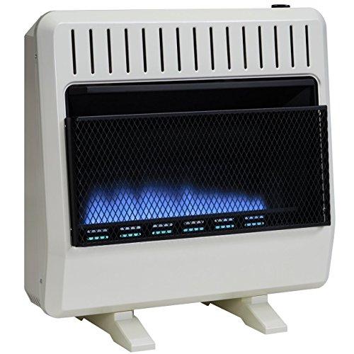 Avenger Dual Fuel Vent Free Blue Flame Heater - 30,000 BT...