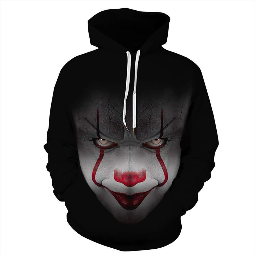 FuweiEncore 2018 Männer & Frauen Hoodies Paare Casual 3D Print Hoodie Hip Hop Herbst Winter Sweatshirts Hoody Trainingsanzüge (Farbe   2, Größe   XXL XXXL) (Farbe   2, Größe   XXL XXXL)