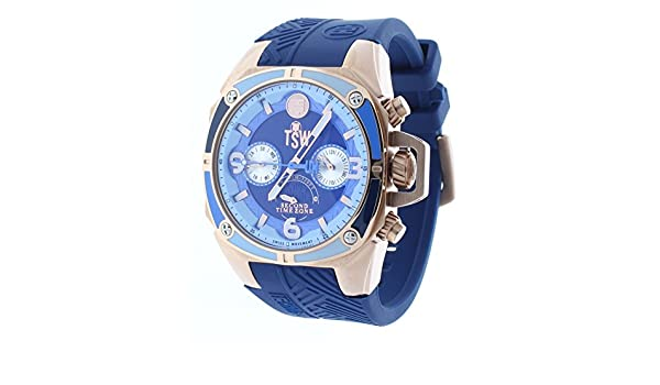 Amazon.com: Technosport (TSW) TS-100-LIFE2 Womens Watch Navy Blue Strap Swiss Multifunction Movement: Technosport: Watches