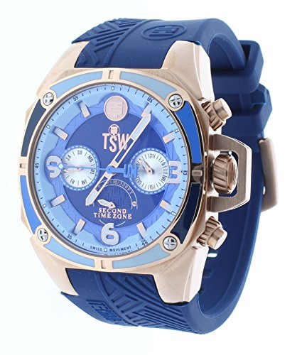 Technosport (TSW) TS-100-LIFE2 Women's Watch Navy Blue Strap Swiss Multifunction Movement