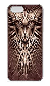 The Mountain Dark Roots Fantasy PC Case Cover for iPhone 5 and iPhone 5s Transparent
