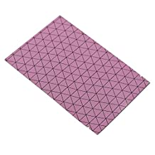 1000 Pcs Mylar Foil Food Grade Bags Aluminum Foil Vacuum Sealer Packaging Bags Long Term Bulk Food Storage Supply Sampling Pouches Coffee Nuts Wrappers Foil Grids Pack (12x18cm (4.7x7.1 inch), Pink)