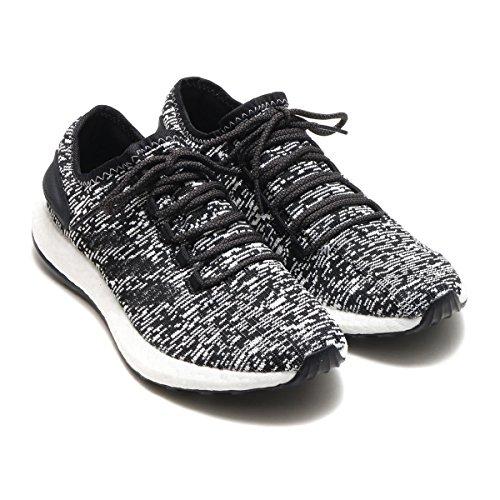 Adidas Mens Pureboost Joggesko (10, Svart / Svart / Hvit)
