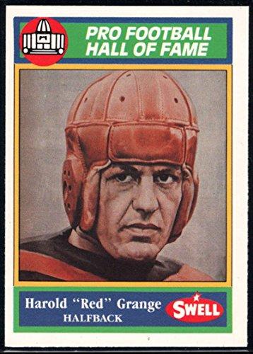 (Football NFL 1990 Swell Greats #5 Harold Red Grange Bears)