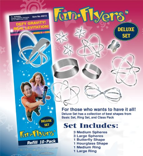 Fun-Flyers, Deluxe Set, Refill 10-Pack