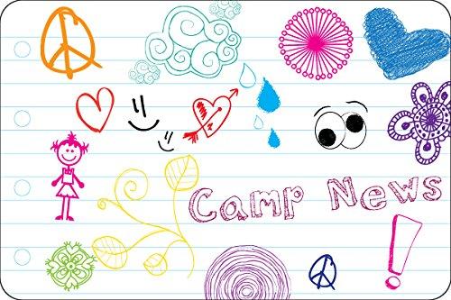 My Doodles Camp Postcards | Kid Postcards | Camp Stationery | 6