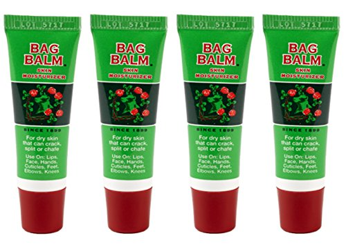Bag Balm - 0.25 Ounce On-the-Go Tube (4-Pack)