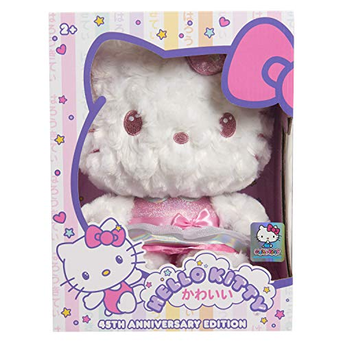 Hello Kitty 45th Anniversary Deluxe Plush Now $6.98 (Was $24.99)