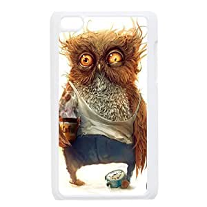 AKERCY Owl Phone Case For Ipod Touch 4 [Pattern-4]