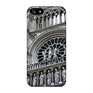 Anglams GMY4411ScAl Case For Iphone 5/5s With Nice Notre Dame Entrance Appearance