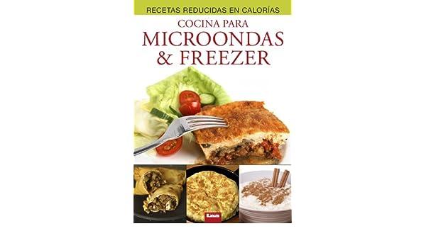 Cocina para microondas & freezer eBook: Mara Iglesias ...