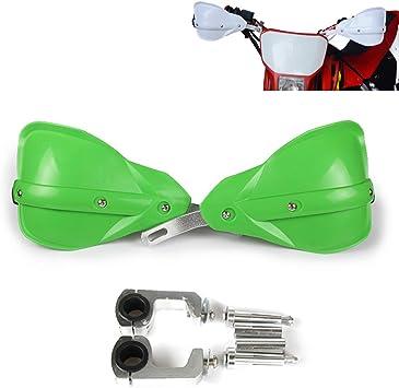 Green Universal Handguards 22mm and 28mm Hand Guards Brush Bar For Motorcycle Dirt Pit Bike Motocross Kawasaki KX65 KX85 KX125 KX250 KX500