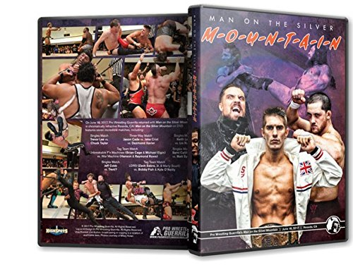 Pro Wrestling Guerrilla - Man on the Silver Mountain Blu-Ray