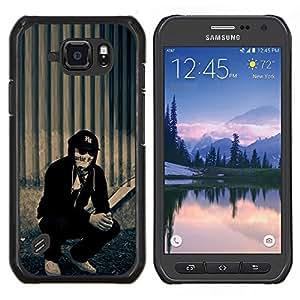 Cubierta protectora del caso de Shell Plástico || Samsung Galaxy S6 Active G890A || Naturaleza Hermosa Forrest Verde 16 @XPTECH