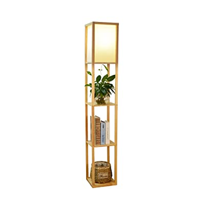 Floor DL Lampadaires Lampe de plancher, simple étagère de salon ...