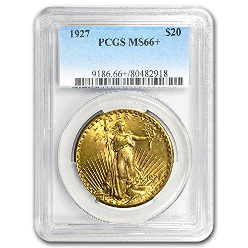 1907-1933 $20 Saint-Gaudens Gold Double Eagle MS-66+ PCGS G$20 MS-66 PCGS
