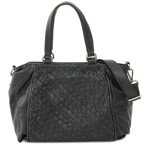 FREDsBRUDER Tasche - Boxy Weave - Black