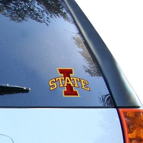 (Wincraft Iowa State Cyclones Decal 5x6 Ultra Color)