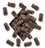 All Natural Dark Chocolate Covered Gummy Bears 8lb