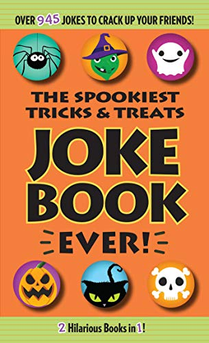 The Spookiest Tricks & Treats Joke Book Ever!]()