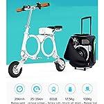 RXRENXIA-Pieghevole-Bici-Elettrica-Leggero-E-Alluminio-Folding-Bike-con-I-Pedali-Scooter-Small-Car-Batteria-Portatile-Pieghevole-Viaggio-Car-Batteria