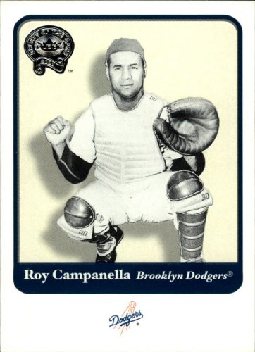 2001 Greats of the Game Baseball Card #16 Roy Campanella Near Mint/Mint - 2001 Baseball