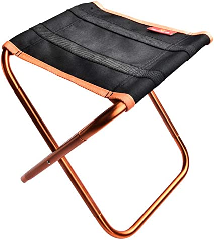 Stool Durable Small Folding Quick Rest Chair Seat Portable Aluminum Alloy Mini