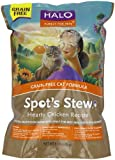 Halo, Purely for Pets Spot's Stew Natural Dry Grain-Free Cats Food, Hearty Chicken, 6-Pound Bag, My Pet Supplies