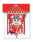 Pirate Party - Party Banner Pack - Includes 1 Banner & 1 Flag Banner - PJPG