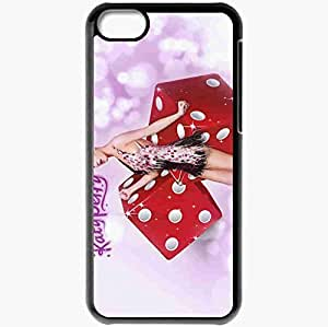 diy phone casePersonalized iphone 5/5s Cell phone Case/Cover Skin Katy perry waking up in vegas singer cubes Music Blackdiy phone case