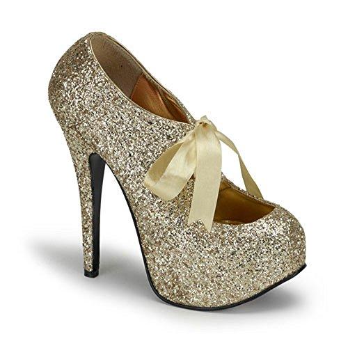 Heels-Perfect - Zapatos de vestir de material sintético para mujer dorado dorado dorado - dorado