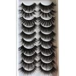 Pleell Wispy Fluffy Natural Look Reusable Eyelashes