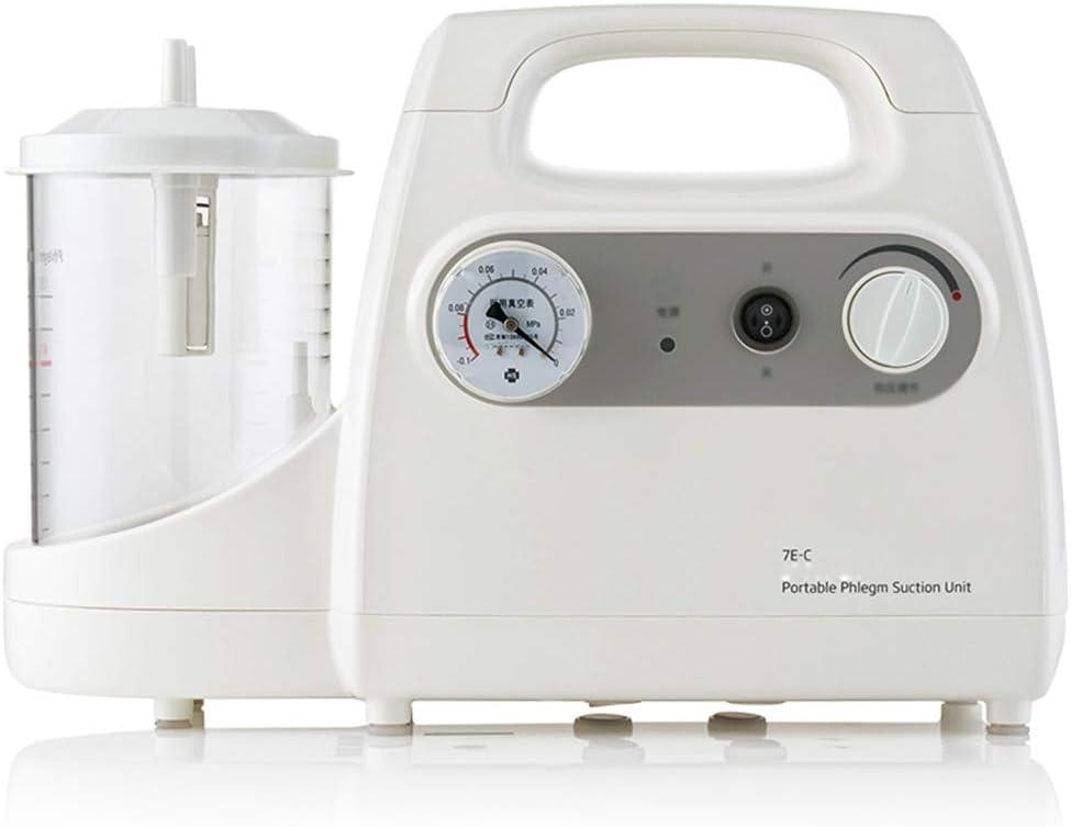 QNMM Máquina Ligera De Secreción De Esputo De Succión, Dispositivo De Succión Automático Eléctrico, para Aspirar Líquidos Viscosos, Sangre Y Esputo