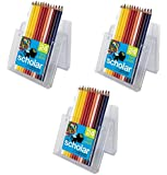 Prismacolor Scholar Colored Pencils, 24 Pre-Sharpened Colored Pencils (3, A)