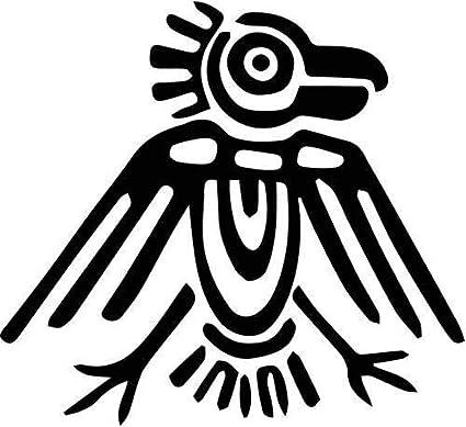 amazon aztec ancient art bird vinyl decal sticker bumper car Aztec Tlachtli image unavailable