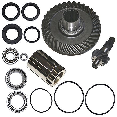 (Rear Differential Ring and Pinion Gear Plus Kit Fits 88-00 Honda TRX300FW 300 Fourtrax)