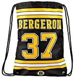 FOCO Boston Bruins Bergeron P. #37 Player Drawstring Backpack