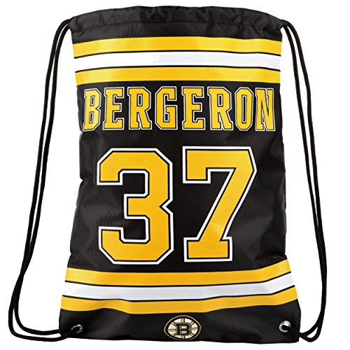 FOCO Boston Bruins Bergeron P. #37 Player Drawstring Backpack by FOCO