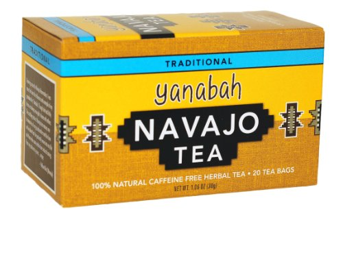 - Yanabah Navajo Caffeine Free Herbal Tea, 20 Tea Bags