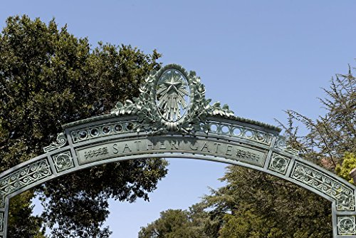 Berkeley, CA Photo - Sather Gate detail at University of California, Berkeley, California - Carol - Gate Sather