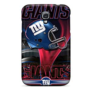 Tpu Case Cover For Galaxy S4 Strong Protect Case - New York Giants Design