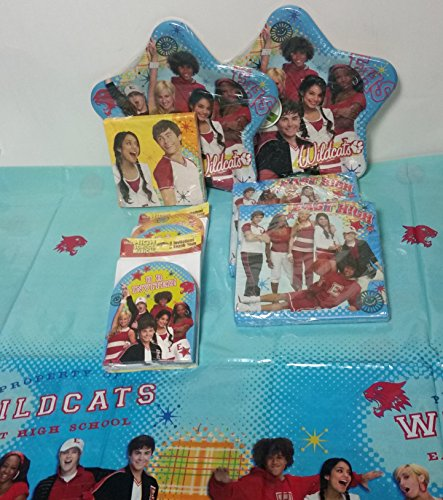 High School Musical Birthday 81 Pc Party Pack Bundle Invitations