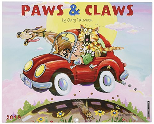 Price comparison product image Gary Patterson's Paws and Claws 2014 Wall Calendar