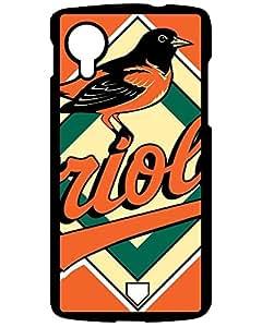MLB Iphone Cases's Shop Hot LG Google Nexus 5 Hybrid Tpu Case Cover Silicon Bumper Baltimore Orioles 9749187ZF364762902NEXUS5